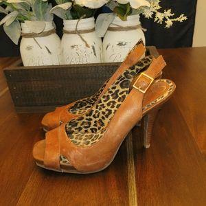 🍺2/$15🍺 Jessica simpson sling back heels